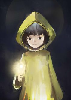 Little Nightmares by MengShou on DeviantArt Video Game Drawings, Little Nightmares Fanart, Spooky Games, Little Misfortune, Gifs, Lets Play A Game, Anime Scenery, Indie Games, Great Stories
