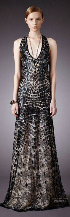 Pre-Fall 2014 Roberto Cavalli | The House of Beccaria I love the fit of this dress...