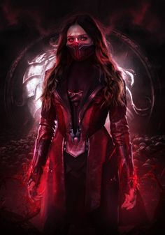 Marvel Women, Marvel Girls, Marvel Art, Marvel Heroes, Marvel Comics, Scarlet Witch Avengers, Mortal Kombat Art, Mortal Kombat Memes, Kitana Mortal Kombat