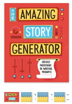 The Amazing Story Generator: Creates Thousands of Writing Prompts Story Generator, Book Cover Design, Book Design, Story Prompts, Story Time, Creative Writing, Short Stories, Nook, Book Covers