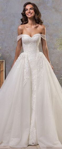 Kasey vintage a line Morilee wedding dress 2018 #weddinggowns ...