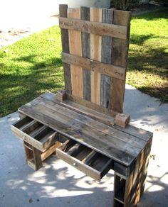 Vanity Dresser Made from Reclaimed Wood Farmhouse Style. $344.00, via Etsy. Still looking for the perfect vanity.. this may be it!