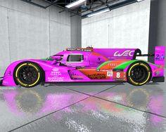 VEC Endurance League Le Mans special design.