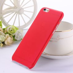 0.3mm Ultra thin matte Case cover skin for iPhone 6 6S Translucent slim Soft plastic Free Shipping Cellphone Phone case