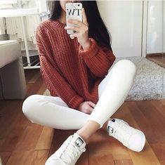 pantalones blancos casual