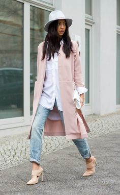 "lookbookdotnu: ""Duster Coat (by Kayla Seah) """