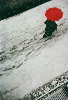 Winter Scenes by Saul Leiter