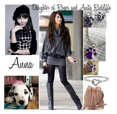 """""""Daughter of Roger and Anita Radcliffe"""" by yunalesca-cecilia-sakura on Polyvore featuring art"""