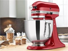 Artisan Stand Mixer (5-qt.): by KitchenAid