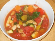 clean food-fall soup recipe.