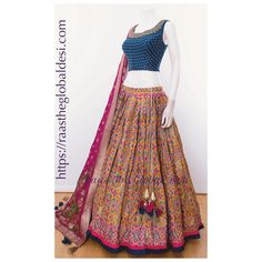 Lehenga Choli Online, Lehenga Saree, Bridal Lehenga, Anarkali, Indian Dresses, Indian Outfits, Latest Salwar Suit Designs, Gown Suit, Dresses Kids Girl