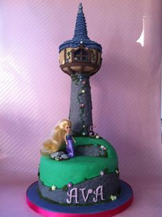 5th Birthday Rapunzel Tower