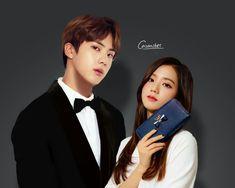 ceo kim seokjin × his secretary kim jisoo uwu Bts Jin, Jimin, I Ship It, Ulzzang Couple, Blackpink And Bts, Secretary, Seokjin, Cute Couples, Wattpad
