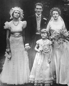 Laurence Olivier and Jill Esmond's wedding, 1930