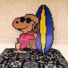 Snoopy perler beads by yocchi