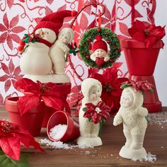 """Snowbabies """"Christmas Memories"""" by Department 56 - An important part of Christmas is holding onto our traditions and reminiscing about the memories we've created with our families.  Ready to Shop? http://shop.department56.com/c/snowbabies_classic-collection_christmas-memories"""