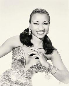 La joven Celia Cruz