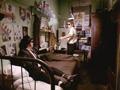 blues brothers hotel bedroom