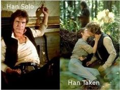 Han Solo vs Han Taken ;)