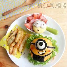 minion cheeseburger