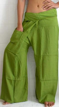 Love the fisherman pants!
