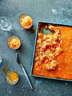 Negroni granita - Recipes - Food & Drink - The Independent