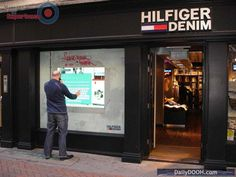 Hilfiger tries out interactive storefronts