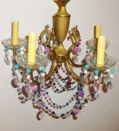 chandelier by isle of ginger and light