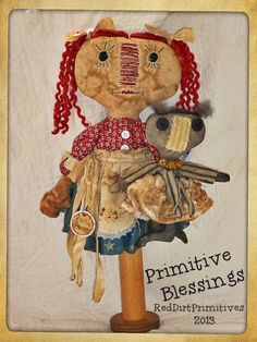 Primitive Blessings Annie $6.50