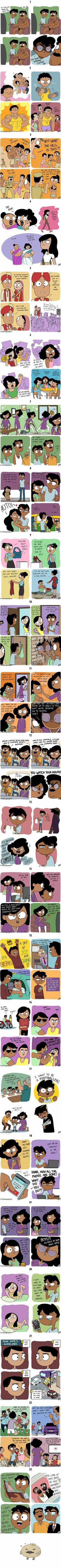 Indian Illustrator Hilariously Captures What It's Like Growing Up In An Indian Family