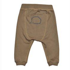 "Organic baby pants ""Hedgehog"""