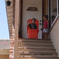 Don't try this at home kids! | #funny #GIF #animation