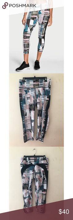 VS Knockout Capri Victoria Secret Sport Knockout Capri. Only work once or twice. They are in perfect condition. Super cute for lazy days and the gym. Colors include white, black, creme, coral, army green, and blue. Victoria's Secret Pants Leggings