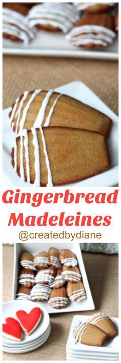 gingerbread-madeleines-createdbydiane