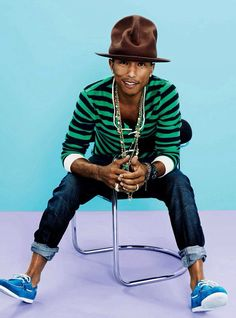 Pharrell Williams covers GQ Magazine April 2014 issue On. Gq Style, Style Icons, Men Street, Street Wear, Mode Chic, Gq Magazine, Versace Men, Fashion Colours, Swagg