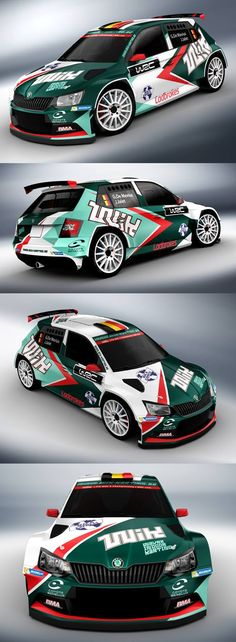 Skoda Fabia racing livery. We collect and generate ideas: ufx.dk