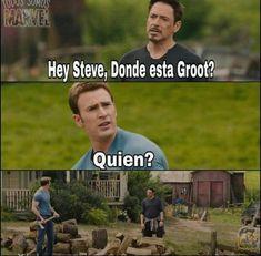 Memes marvel Groot is part of Marvel memes - Read Groot from the story Memes marvel by sofi cuqui (Sofi🌙) with 168 reads thor, loki, memes Marvel Jokes, Avengers Memes, Marvel Funny, Marvel Heroes, Marvel Marvel, Best Memes, Funny Memes, Hilarious, Mundo Marvel