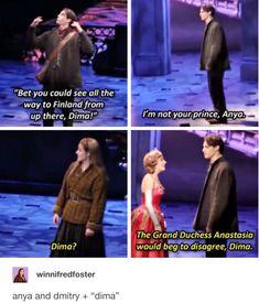 'Dima' is actually just short for Dmitry. Anastasia Movie, Anastasia Broadway, Anastasia Musical, Princess Anastasia, Musical Theatre Broadway, Broadway Plays, Broadway Shows, Musicals Broadway, Christy Altomare