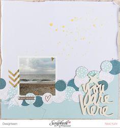 You are here - Layout  Heidi Swapp Wanderlust by Nikki Kehr Nimena