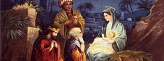 Three Kings with Baby Jesus and Mary
