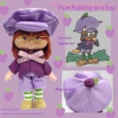 Plum Pudding Custom made