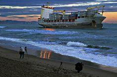 #elfoton14 www.elfoton.com @elfoton_esUsuario: pirineos (España) - Amanecer en la playa del Saler - Tomada en El Saler.Valencia el 30/09/12