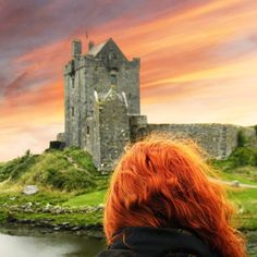 It is believed that if a person stands at the front gate of Dunguaire Castle and asks a question, they will have an answer to their question by the end of the day. Thanks for this beautiful picture. Wild Atlantic Way, Front Gates, 16th Century, Tower Bridge, Your Hair, Irish, Beautiful Pictures, Castle, Tours
