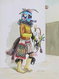 Sipikne - Zuni Warrior © 2009 Otis Thomas kK