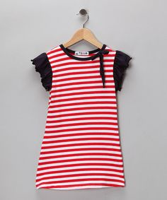 ADORABLE casual dress for the 4th onlyl $11.99 on Zulily  http://www.zulily.com/p/red-stripe-angel-sleeve-dress-toddler-girls-15774-1492902.html?pos=8