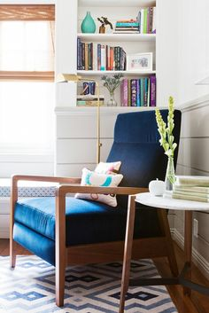 Nice chair. Modern and Vintage <3 Home Tour: A Youthful, Whimsical L.A. Home via @mydomaine