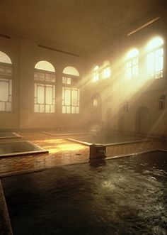 hotel of shima Japan Tourism, Japan Travel, Japanese Hot Springs, Japanese Bath, Vernacular Architecture, Old Building, Beautiful Places In The World, Japanese Culture, Wonders Of The World
