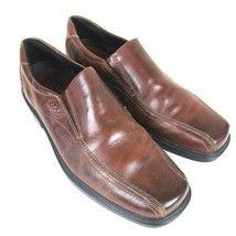 herren halbschuhe ecco loafers mens size 11 5 shoes brown leather slip on    28 59  ecco loafers mens size 11 5 shoes brown