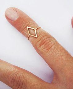 diamond knuckle ring.