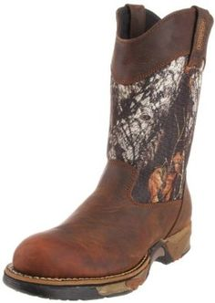 af4120c0d45 Rocky Men s Aztec Hunting Boot Rocky.  109.99. Leather and textile. Rubber  sole.